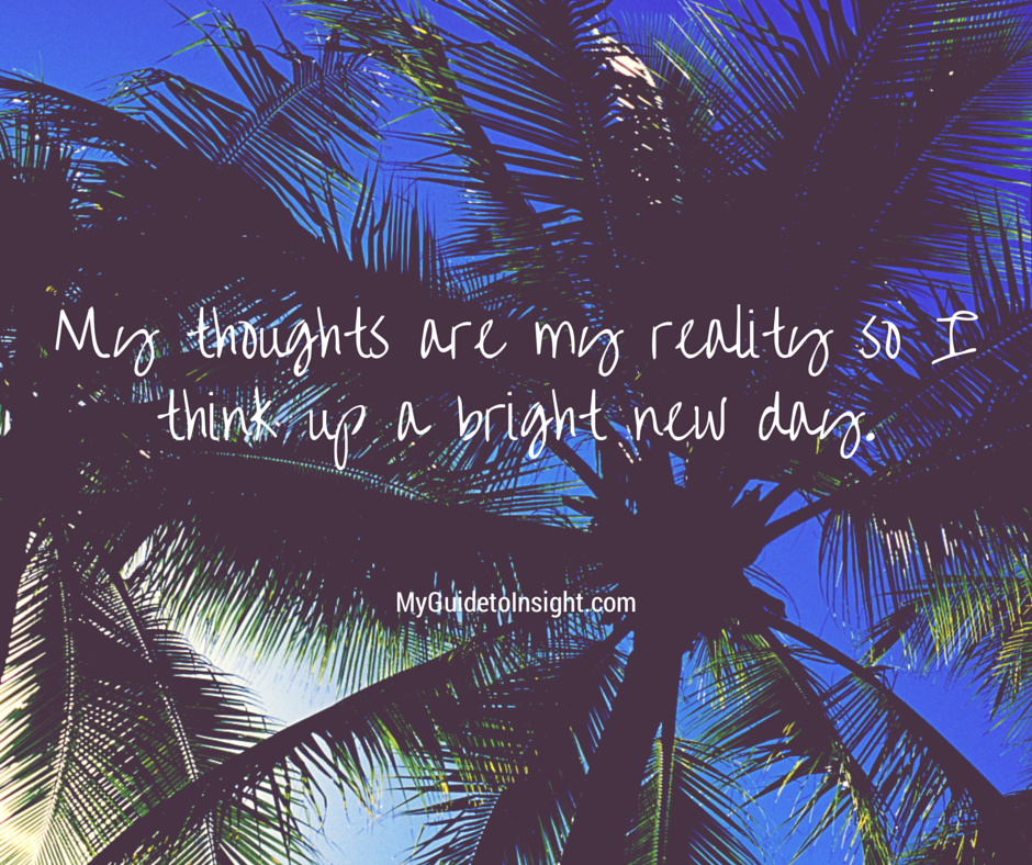 Thoughts are Important!